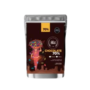 Minimonedas de cacao al 70%