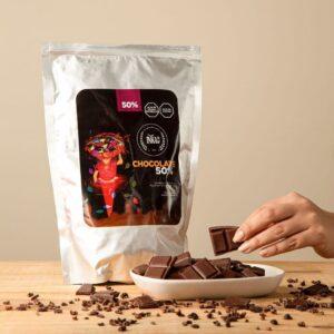 Cobertura de chocolate al 50%